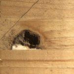 節の補修に役立つ埋め木の使い方|大山椅子